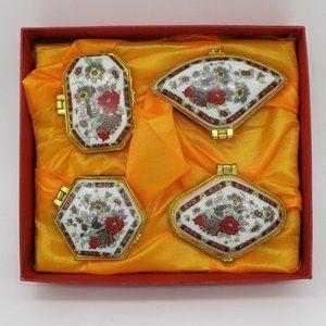 Set of 4 Trinket Boxes